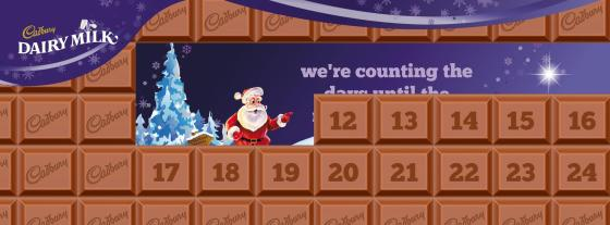 Cadbury South Africa's Chocolate Advent Calendar (on Facebook)