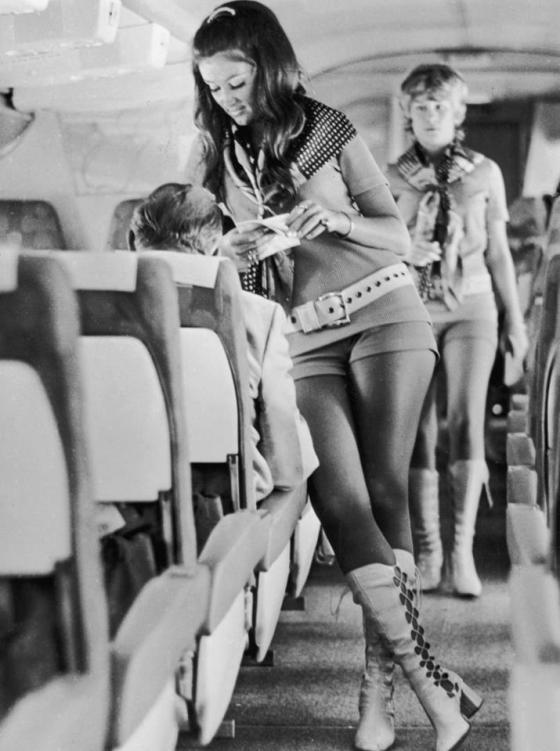 Stewardesses in 1968!