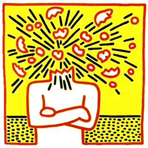 exploding-head-by-keith-haring1