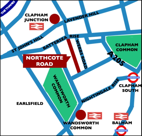 northcote_road_map
